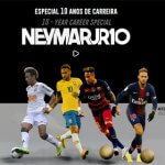 Neymar Jr. comemora 10 anos de carreira com novo website