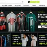 Gigante virtual de artigos desportivos é referência para os fanáticos por futebol